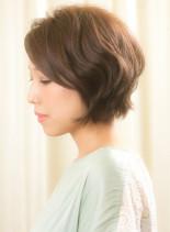 アンチエイジングヘア(髪型ショートヘア)