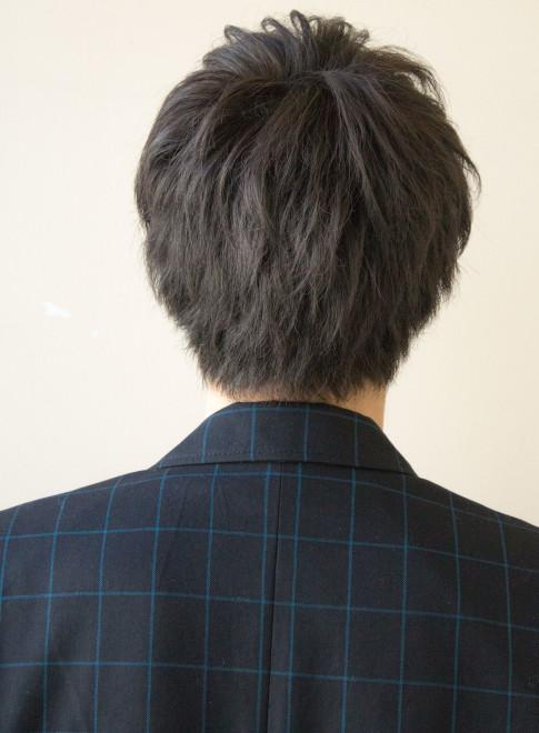 髪型 メンズ 後ろ