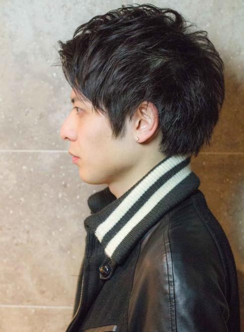 黒髪でも決まるワイルドショート(ビューティーナビ)