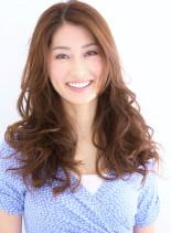 ふんわり上品カジュアルエレガント(髪型ロング)