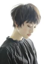 ☆大人シンプル束感エッジーショート☆(髪型ベリーショート)