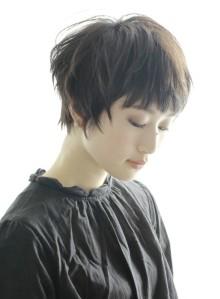 ☆大人シンプル束感エッジーショート☆(ビューティーナビ)
