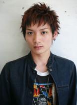 メリハリショートヘア(髪型メンズ)