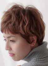 フレンチショートヘア(髪型ショートヘア)