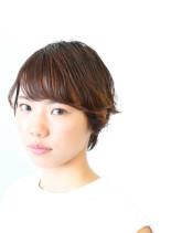 ツヤ髪ショートヘア(髪型ショートヘア)