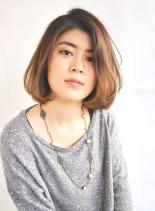 似合わせフェミニンボブ(髪型ボブ)