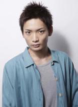 ナチュラルベリーショート(髪型メンズ)