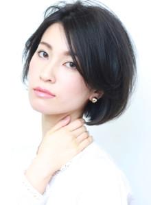美人髪◇大人の艶シンプルボブ