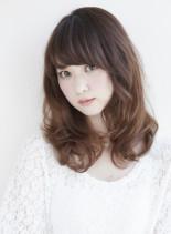 ☆愛され大人フェミニン☆(髪型セミロング)