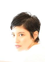 ミニマムショートヘア(髪型ショートヘア)