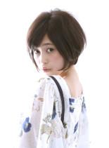 大人のお洒落なショートスタイル(髪型ボブ)