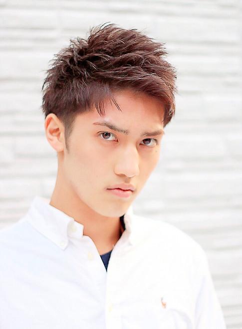 メンズ】爽やかUPバングショート/fifthの髪型・ヘアスタイル