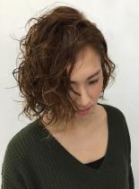 3Dカラー&パーマ(髪型ボブ)