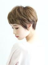 おしゃれなマニッシュショート(髪型ショートヘア)