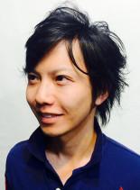 ミディアムカール(髪型メンズ)