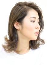 重ハネボブ(髪型ミディアム)