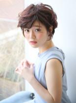 大人のエレガントショート(髪型ショートヘア)