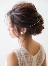 オトナのルーズアップシニオン(髪型ロング)