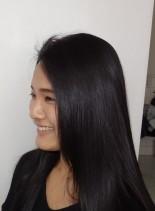 リタッチキララ ヘアカラー(髪型ロング)