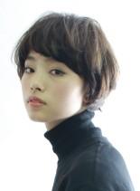 マッシュベースのショートヘアースタイル(髪型ショートヘア)