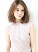 生っぽロブ(髪型ミディアム)