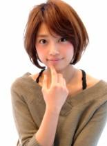30代・40代に大人気ひし形ショート(髪型ボブ)