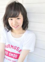 ミディアムショート(髪型ボブ)