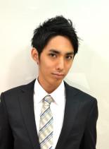 スマートナチュラルショート(髪型メンズ)