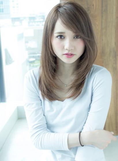AFLOAT明日香のシャーベットカラー(髪型ロング)