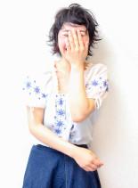 キュートショート(髪型ショートヘア)