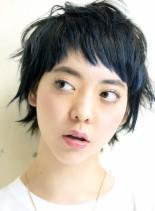 元気印なショートウルフ(髪型ショートヘア)