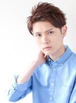 三代目JSB登坂風ツーブロックショート(髪型メンズ)
