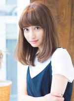 「10代 ミディアム ヨンア 丸顔」の髪型・ヘアスタイル・ヘアカタログ情報(9件)