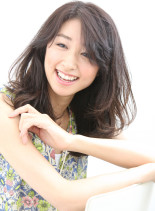 井川遥さん風☆好印象な女性エアリーロング(髪型ロング)