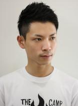 爽やかアシメ2ブロック(髪型メンズ)