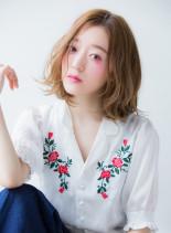 大人リラックスボブ2016(髪型ミディアム)