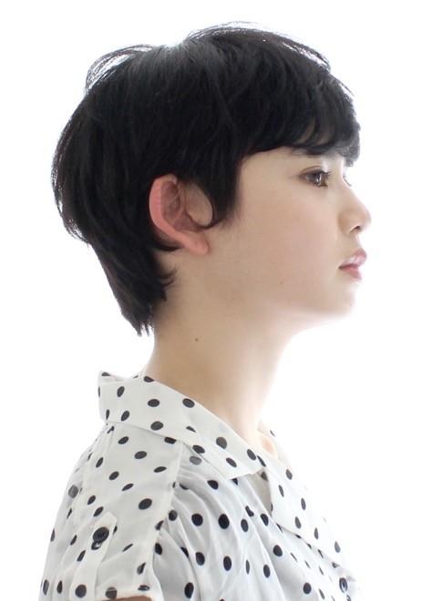 ショートヘア】大人かっこいい ベリーショート 40代/CIRCUS by