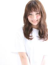 ロング+レイヤー+ゆる巻き(髪型ロング)