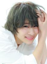 ショート・モーションカット(髪型ショートヘア)