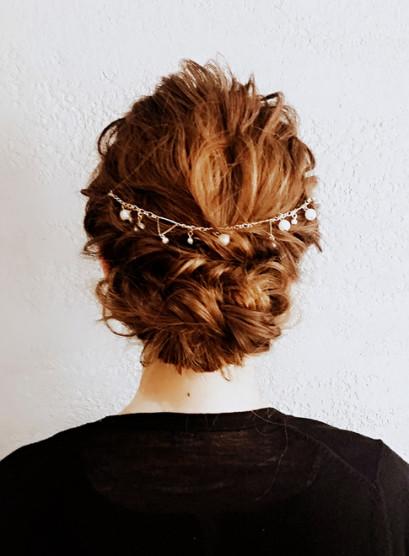 AFLOAT明日香のパーティーヘア(髪型ロング)