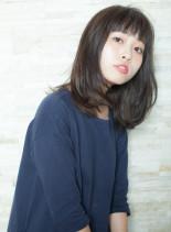 きゅーとミディアム(髪型セミロング)