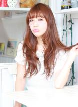 カントリースタイル・ロングパーマ(髪型ロング)