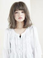 ☆小顔前髪!透明感カラーボブ☆