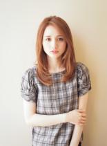 ナチュラルストレート(髪型ロング)