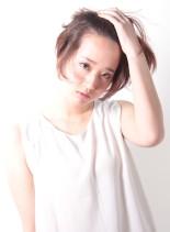 """""""艶感""""大人のショートスタイル(髪型ショートヘア)"""