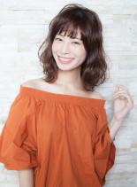 リラクシーミディ(髪型ミディアム)