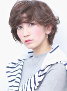 ★大人カジュアル+小顔ラフボブ(ビューティーナビ)