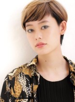 ユニセックスショート(髪型ショートヘア)