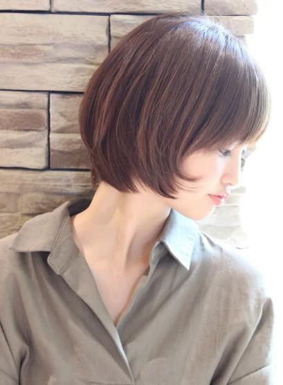30代40代に人気大人スタイル(髪型ボブ)