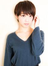 ツヤ感タイトショート(髪型ショートヘア)